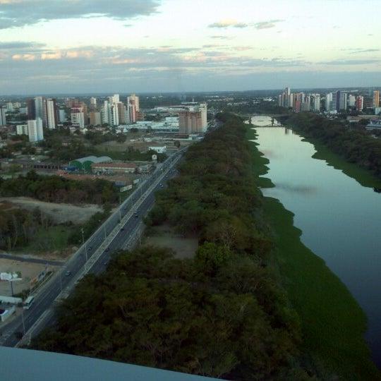 Photo taken at Ponte Estaiada by Karla A. on 7/21/2012