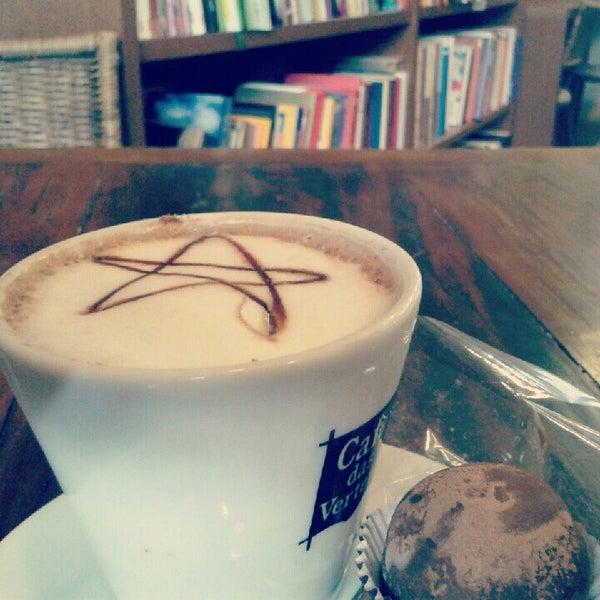 Photo taken at Café Book by Gabriel F. on 8/3/2012