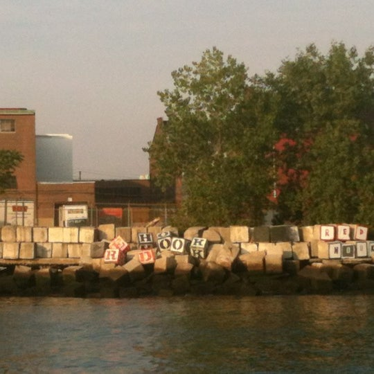 Photo taken at Louis Valentino, Jr. Park & Pier by Robert C. on 8/24/2012