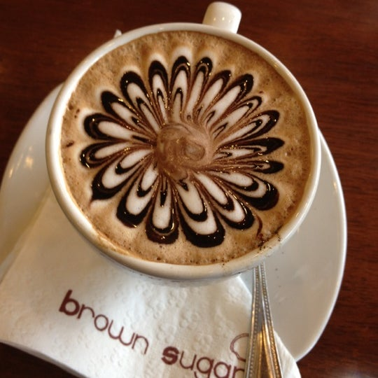 Photo taken at brown sugar cafe by Prapapun N. on 3/24/2012