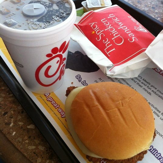 Photo taken at Chick-fil-A by George C. on 4/12/2012