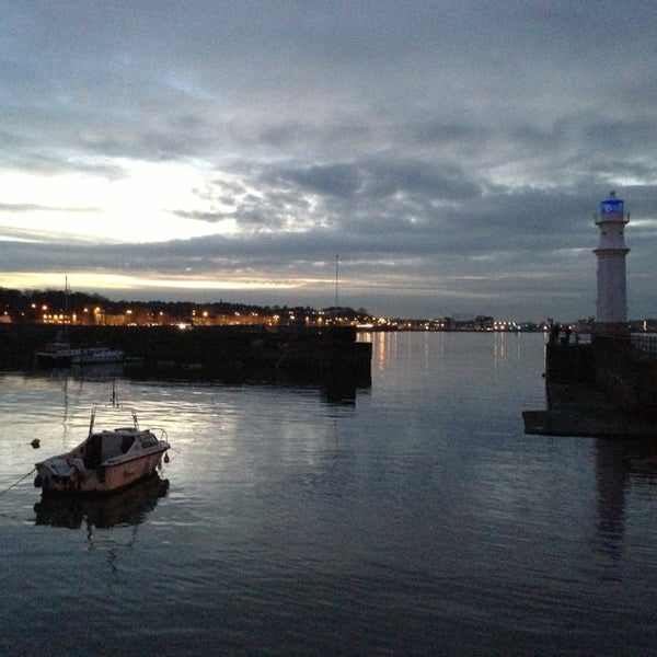 Photo taken at Newhaven Harbour by Ewan M. on 1/16/2013