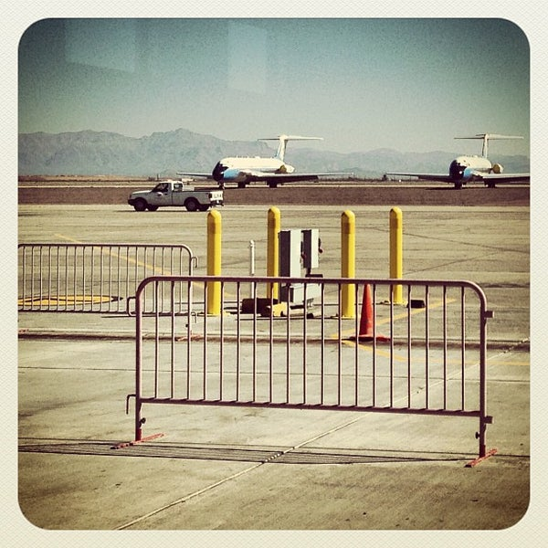 Photo taken at Phoenix-Mesa Gateway Airport (AZA) by Scott D. on 2/23/2013