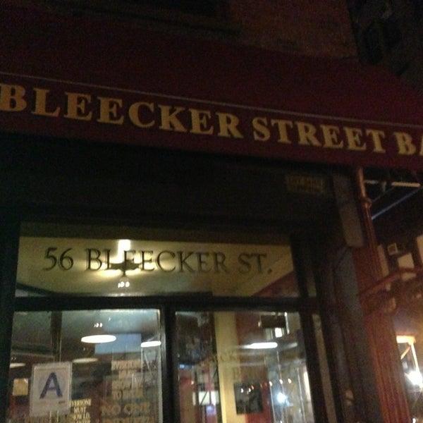Photo taken at Bleecker Street Bar by jason r. on 7/28/2013