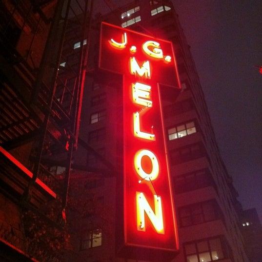 Photo taken at J.G. Melon by Trey B. on 11/24/2012