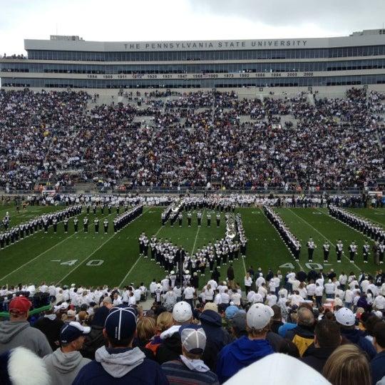 Photo taken at Beaver Stadium by Jessica L. on 10/6/2012