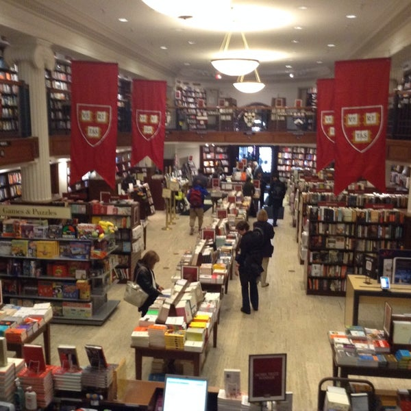Photo taken at Harvard Coop Society Bookstore by Shawn M. on 4/8/2014