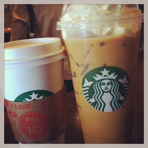 Photo taken at Starbucks by Brianna W. on 9/9/2013