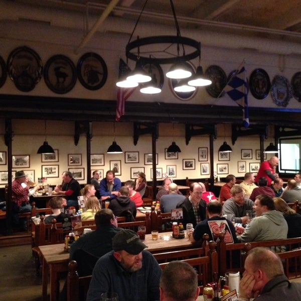 Photo taken at Hofbräuhaus Newport by Bill B. on 2/26/2014