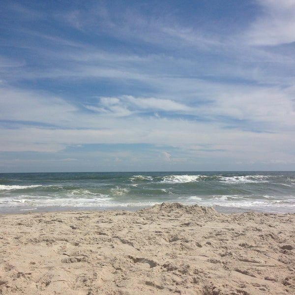 Photo taken at Carolina Beach by Liz S. on 9/21/2015