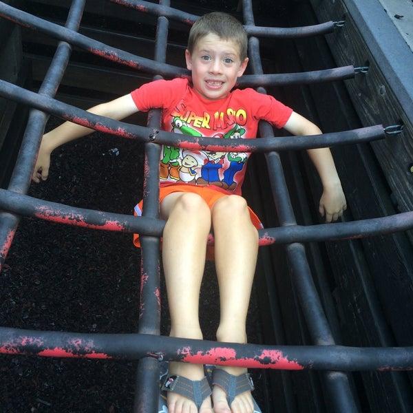 Photo taken at Annie's Playground by Maria B. on 8/21/2015