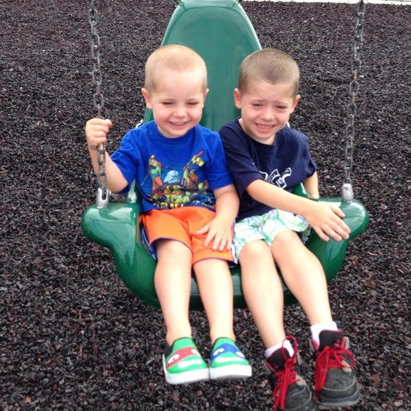 Photo taken at Annie's Playground by Maria B. on 8/9/2013