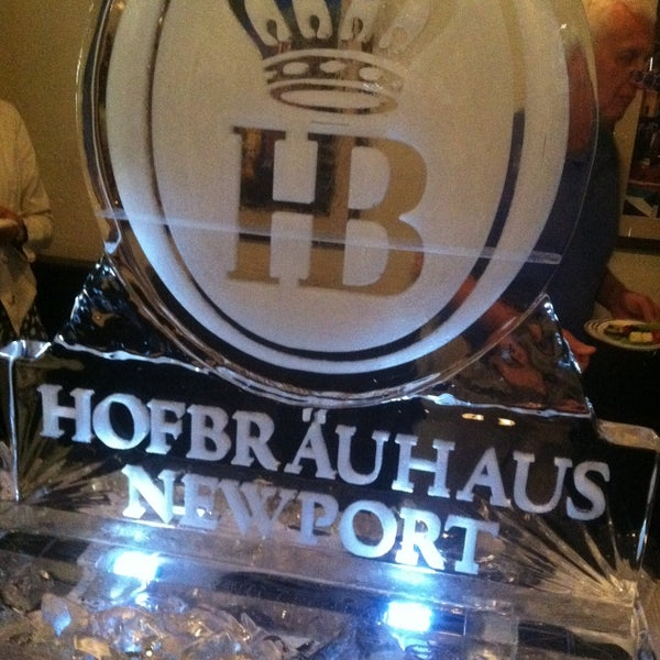 Photo taken at Hofbräuhaus Newport by Barb Chapin R. on 5/1/2013