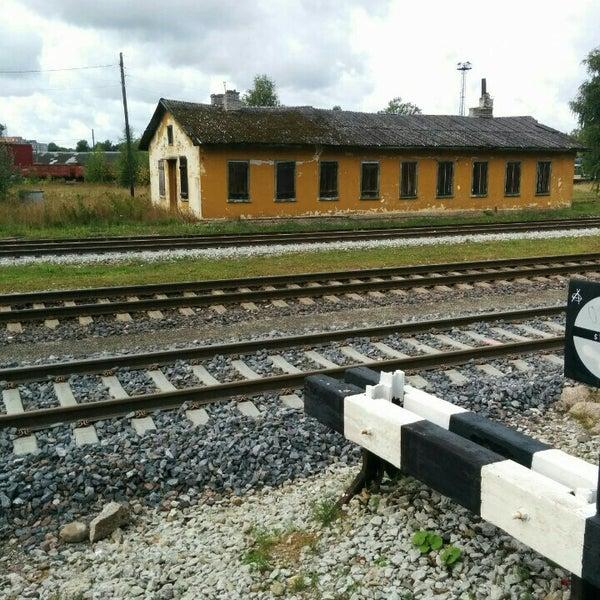 Photo taken at Tartu Raudteejaam by Sulev R. on 8/30/2015