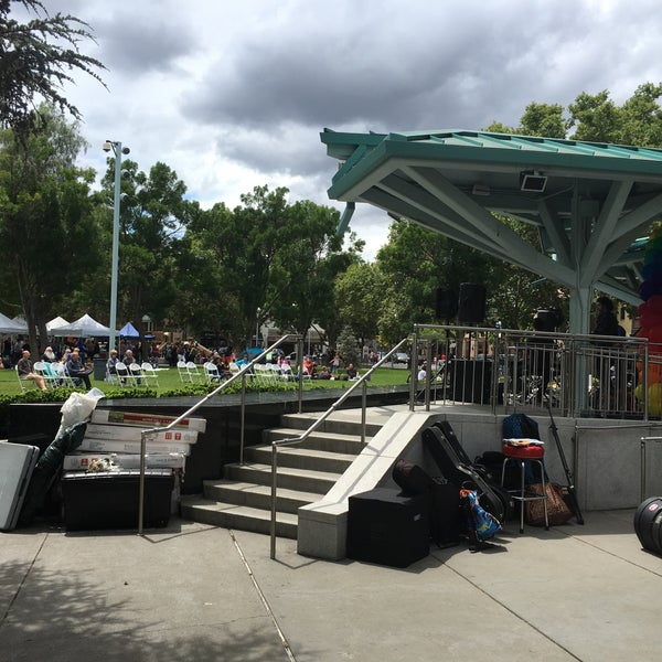 Photo taken at Todos Santos Plaza by Will M. on 5/22/2016