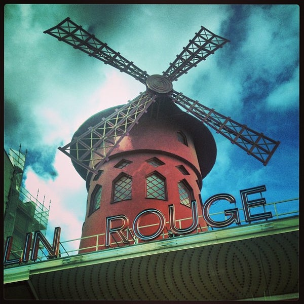 Photo taken at Moulin Rouge by Vincent N. on 7/14/2013
