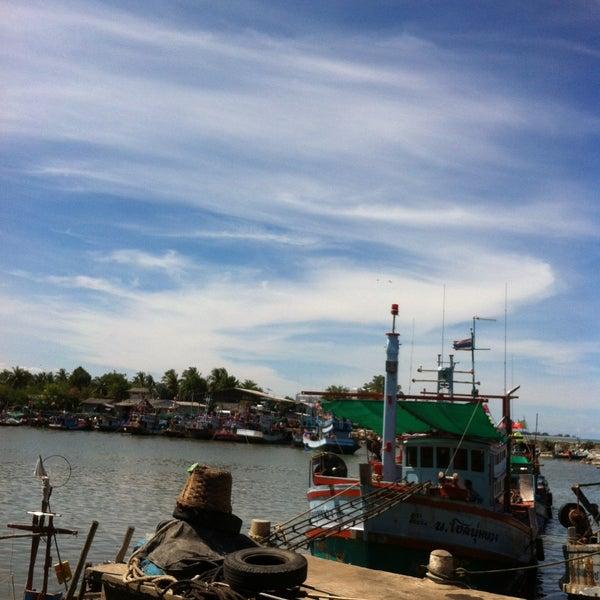 Photo taken at อำเภอชะอำ (Amphoe Cha-am) by Mela K. on 5/15/2015