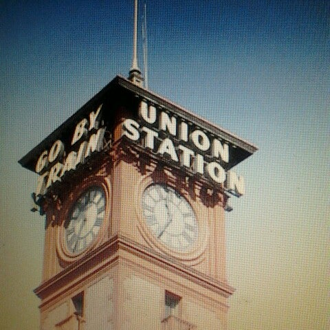 Photo taken at Union Station Amtrak (PDX) by eBeth on 7/12/2013