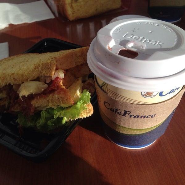 Photo taken at Café France by C Jane L. on 11/2/2014
