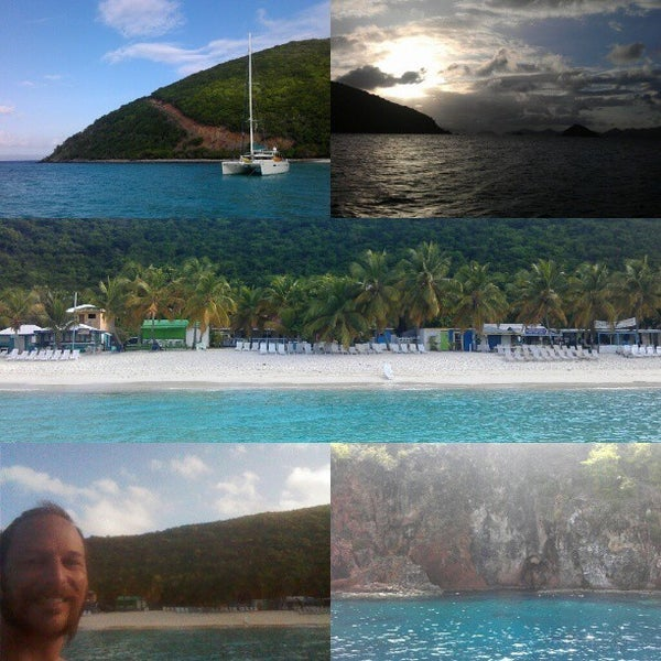 Photo taken at Jost Van Dyke Island by Matt Z. on 5/31/2013