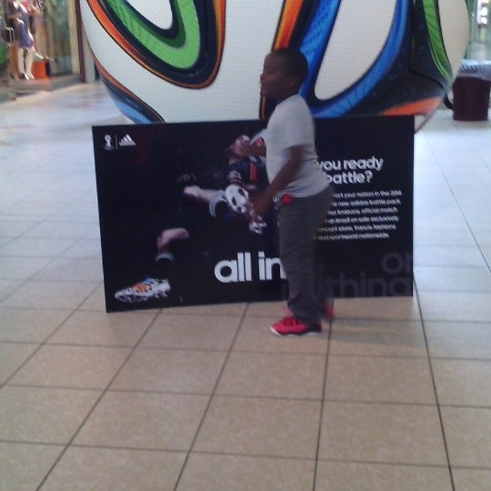 Photo taken at Trincity Mall by Delise T. on 7/11/2014