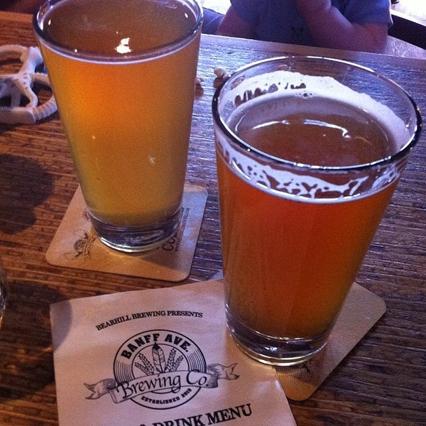 Photo taken at Banff Avenue Brewing Co. by Cameron W. on 7/2/2014