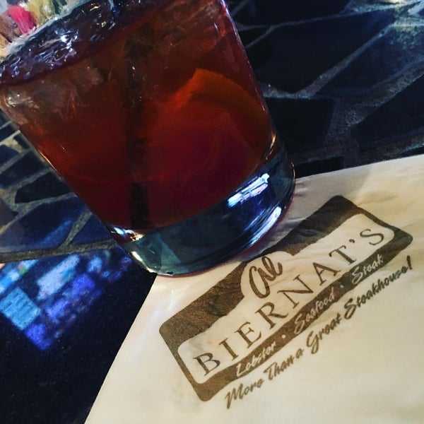 Photo taken at Al Biernat's Prime Steak & Seafood by Jeff K. on 3/13/2016