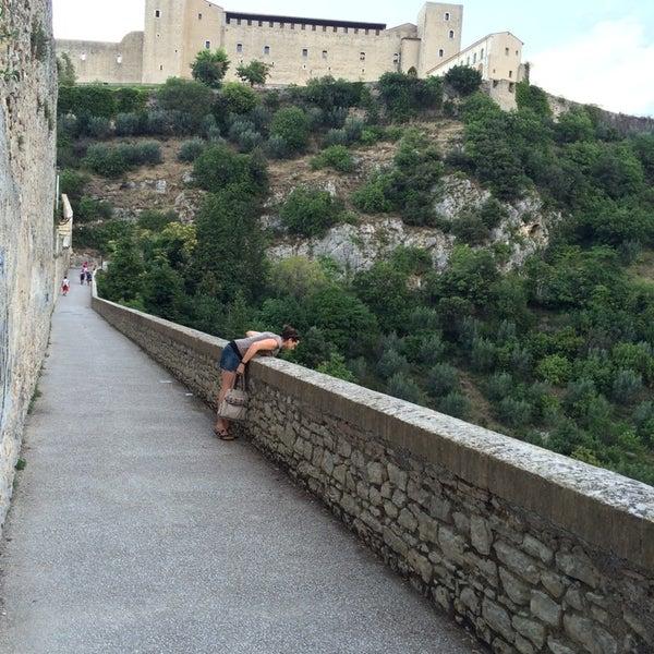 Photo taken at Ponte Delle Torri by Massimiliano Maria L. on 8/22/2014