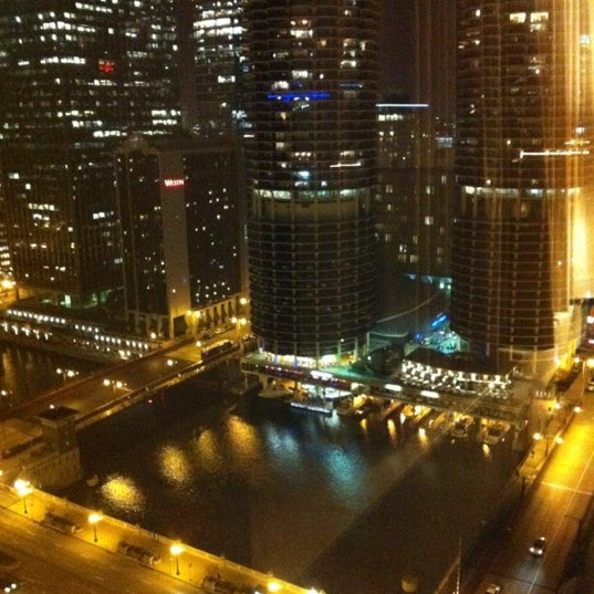 Photo taken at theWit Chicago - A DoubleTree by Hilton Hotel by Diego B. on 10/16/2012