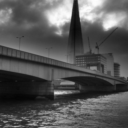 Photo taken at London Bridge by Phil A. on 12/13/2012