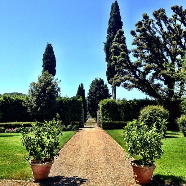 Photo taken at Villa Olmi Firenze by Carlo V. on 6/9/2014