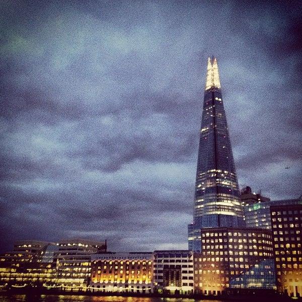 Photo taken at London Bridge by Matthieu A. on 2/2/2013