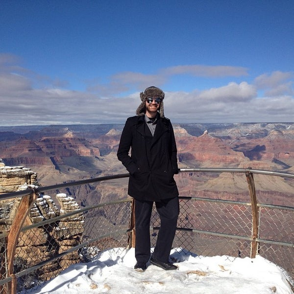 Photo taken at Grand Canyon National Park by Nick S. on 1/29/2013