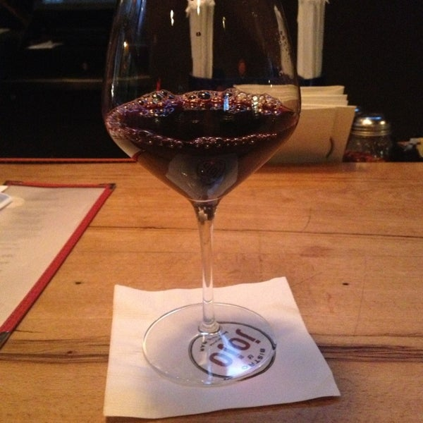 Photo taken at JoJo Bistro & Wine Bar by Kasia C. on 7/21/2013