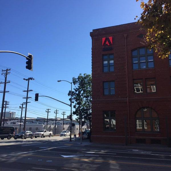 Photo taken at Adobe by Shuji K. on 10/21/2015