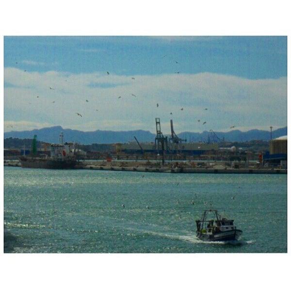 Photo taken at Port de Tarragona by Ishan M. on 3/30/2015