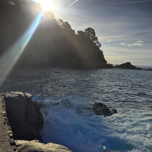 Photo taken at Cala Canyelles by MICKY R. on 5/14/2016