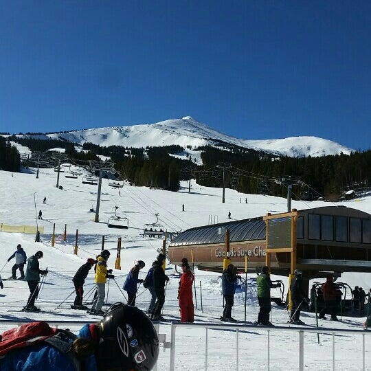 Photo taken at Breck Connect Gondola by Susanna P. on 2/9/2016