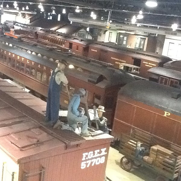 Photo taken at Railroad Museum of Pennsylvania by Gina T. on 10/5/2013