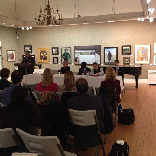 Photo taken at Salmagundi Club by Greenwich Village Chelsea Chamber of Commerce D. on 11/30/2012