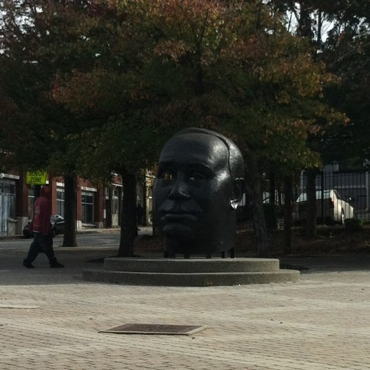 "Photo taken at ""Homage to King"" Sculpture by Will D. on 10/30/2012"