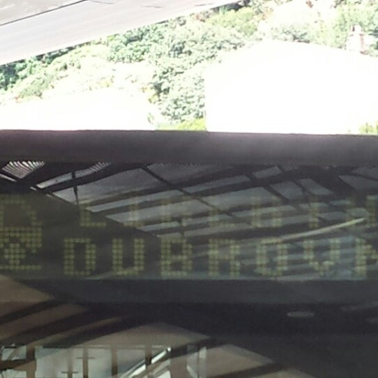 Photo taken at Autobusni Kolodvor Dubrovnik   Dubrovnik Bus Station by Ivana M. on 8/1/2014