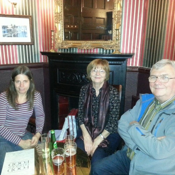 Photo taken at The Carpenters Arms by Matthew B. on 1/11/2014