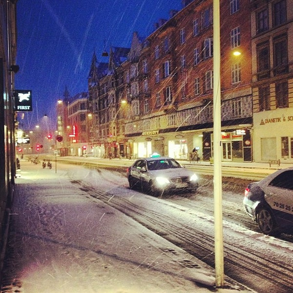 Photo taken at First Hotel Vesterbro by Gustav E. on 3/20/2013