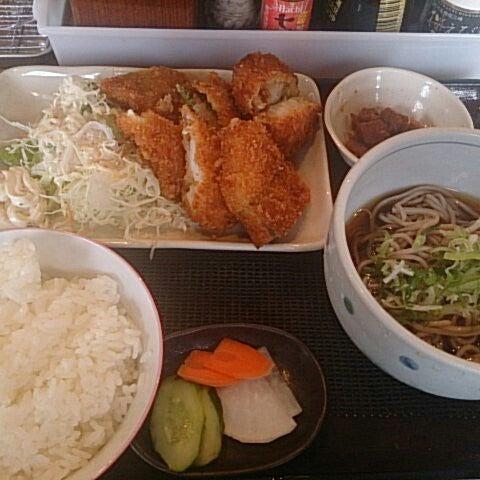 Photo taken at 食堂さくら屋 by Ryosuke S. on 6/27/2014