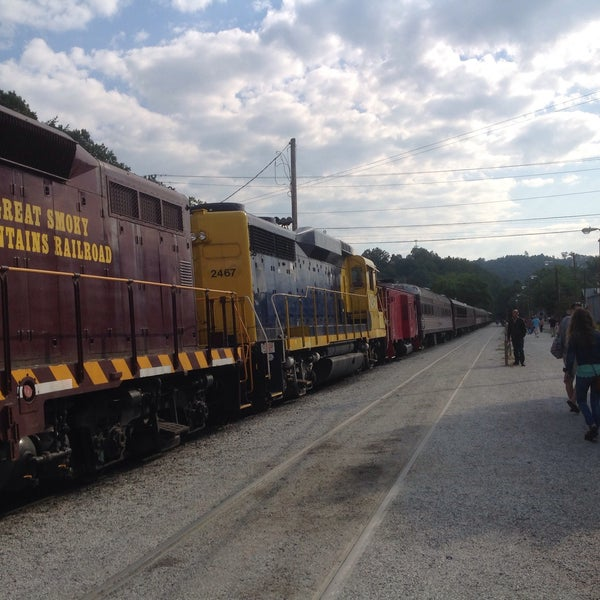 Photo taken at Great Smoky Mountain Railroad by Brian B. on 8/27/2015