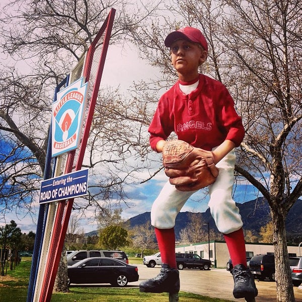 Photo taken at Little League Baseball Western Regional HQ by Gabe R. on 3/3/2013