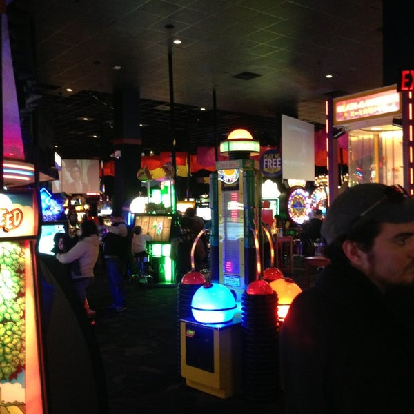 Photo taken at Dave & Buster's by Joel G. on 12/21/2012