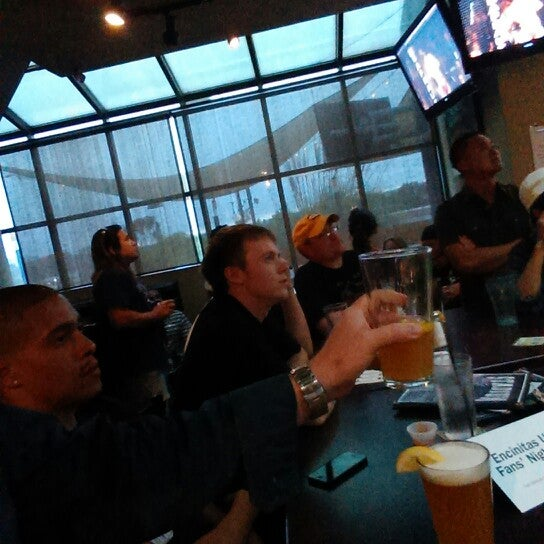 Photo taken at Stadium Sports Bar & Restaurant by Chris H. on 7/7/2013