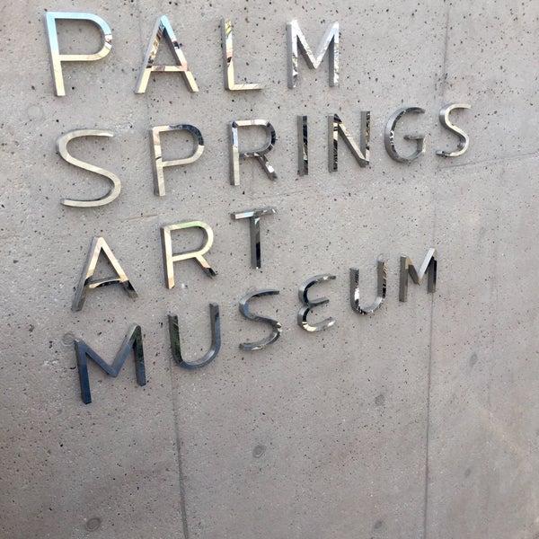Photo taken at Palm Springs Art Museum by Alejandra V. on 10/24/2015